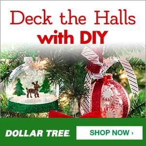 Dollar Tree Xmas DIY 300x300
